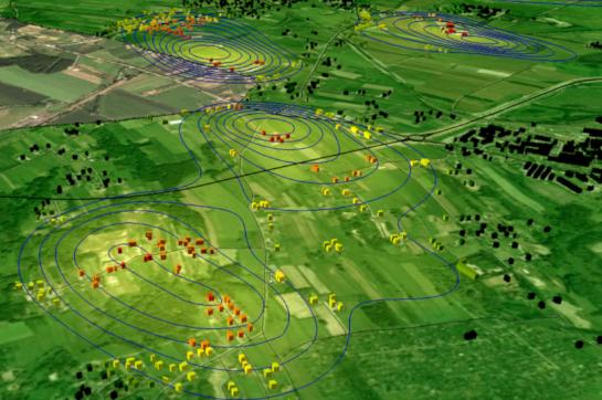 monitoringu strefy wpływów eksploatacji